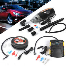 12V Portable Air Compressor Wheel 260psi Tyre Inflator Pump Auto Car Cigarette