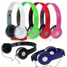 Tablet Over-Ear Earphone Headphone 3.5mm For iPod iPhone MP3 MP4 PC
