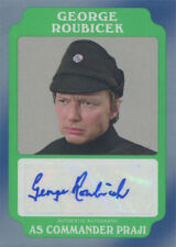 Star Wars Rogue One Mission Briefing Autograph Card A-GR George Roubicek