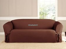 Mirco Suede Slipcover Chair/Loveseat/Sofa Multi-Color Furniture Covers Free Ship