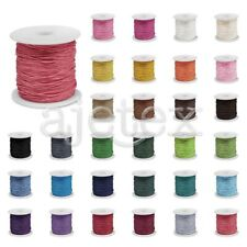 80m/Roll Waxed Cotton Cord Wire Beading String Jewelry DIY 0.5/1/1.5mm Hotsale
