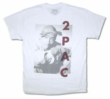 Tupac Shakur 2PAC Tune It White T Shirt New Official