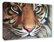 Tiger Pastel Painting Canvas Print Tiger Wall Picture Home Decor A1/A2/A3/A4