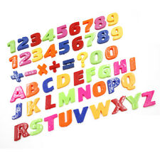 Teaching Magnetic Letters & Numbers Fridge Magnet Alphabet Education LAUS