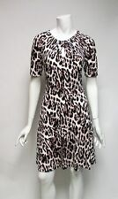 Robert Rodriguez Smudge Leopard Print Dress Sz XS, M, L, XL NWT Msrp $119