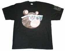 Kanye West Bear Glow In The Dark Tour Black T Shirt New Official