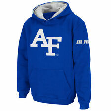 Air Force Falcons Stadium Athletic Youth Big Logo Pullover Hoodie - Royal - NCAA