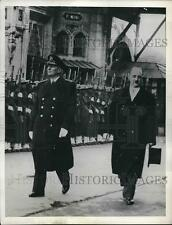 1954 Press Photo Yugoslav President Marshal Tito at a parade in his honor