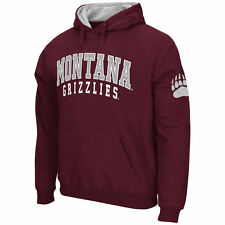 Montana Grizzlies Stadium Athletic Double Arches Pullover Hoodie - Maroon - NCAA