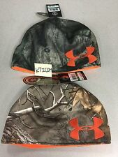 NWT Under Armour Men's Hunting UA Reversible Camo Mossy Oak or Realtree Xtra