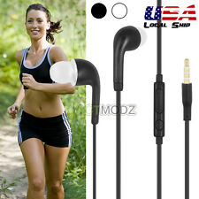 Headset Earphones Remote Mic Volume For Apple iPhone 5 iPod Touch Nano MP3 USA