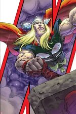 Marvel Avengers: Earths Mightiest Heroes No.3 Cover: Thor and Mjolnir Poster