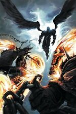 Marvel Ghost Riders: Heavens on Fire No.6 Cover: Ghost Rider and Zadkiel Poster