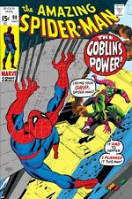 Marvel The Amazing Spider-Man No.98 Cover: Green Goblin and Spider-Man F… Poster