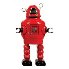 ST John Planet ROBOT Red Or Black Mechanical Wind Up Vintage Collectable Tin Toy