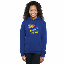 Kansas Jayhawks Women's Classic Primary Pullover Hoodie - Royal Blue - NCAA