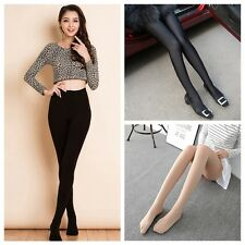 Sexy Women High Stretchy Tights Opaque Footed Slim Tights Stockings Pantyhose