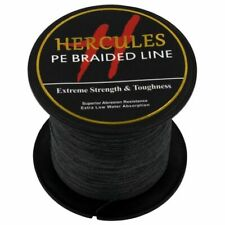 Black Fishing Line Spectra 100M-2000M Super PE Dyneema 6lb-300lb Hercules Braid
