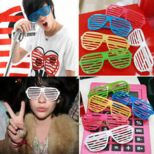 Retro Fun Party Shutter Shades Glasses Novelty Club Fashion Fancy Dress Eyewear