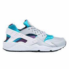 Nike Air Huarache Grey Blue Mens Trainers