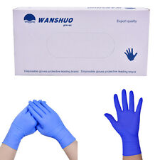 100pcs Disposable rubber work glove disposable pvc nitrile latex gloves FF