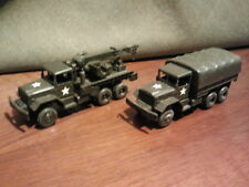 ROCO MINITANKS M54+M62 TRUCK WITH CRANE 2 PIECES SCALE 1/87