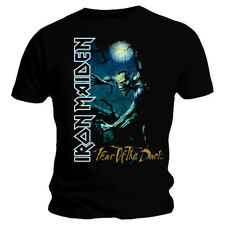 Iron Maiden T Shirt Fear of The Dark Tree Sprite Official Black Mens Tee NEW