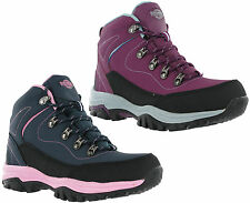 Northwest Texas Leather Walking Hiking Womens Lace Up Trail Boots