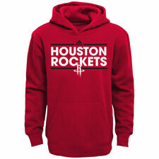 Houston Rockets adidas Youth Tip-Off Dassler Hoodie - Red