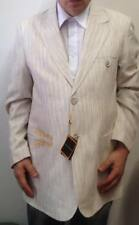 New Mens Stacy Adams Lt Tan 2B Blazer size Large NWT