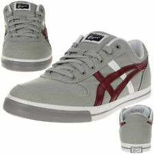 Asics Onitsuka Tiger Aaron Trainers Shoes grey Canvas