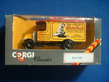 Corgi Classics - Yellow Mack Truck - White Rock Water - 1986