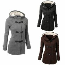 Trench Winter Women Lady Warm Coat Hooded Parka Long Jacket Overcoat Outwear