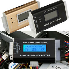 Digital LCD PC Computer Power Supply Tester 20/24 Pin 4 PSU ATX SATA HDD Testers