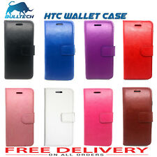 New Luxary leather  Case Cover Flip Wallet For HTC Phone -Various  Models