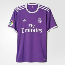 BNWT Adidas 2016/17 REAL MADRID Away S/S Soccer Jersey Football Shirt AI5158