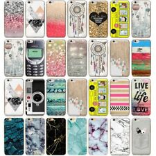 Clear Ultra Slim Rubber Soft TPU Phone Cover Case For iPhone 6S 6 7 Plus 5 5S SE