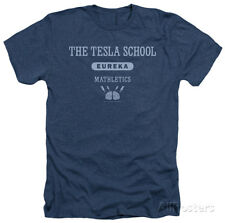 Eureka - Tesla School Apparel T-Shirt - Navy Heather