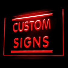 Your Text Personalized Custom Made Customize Display LED Light Sign