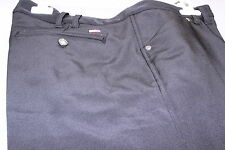JRB Black Lined Wind Stopper Water Resistant Golf Trousers Size 16/18 Wider Leg