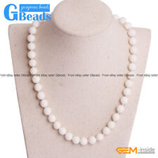 Handmade White Sponge Coral Beaded Long Necklace Fashion Jewelry Free Shipping