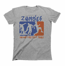 Zombies Do Not Like Fast Food T-Shirt Mens Ladies Unisex Fit Funny