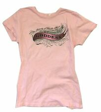 Charlie Sheen Goddess Property Of Girls Juniors Pink T Shirt New Official