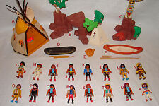 Playmobil Pick & Choose INDIAN FIGURES & LARGE ACCESSORIES 1.79-7.99 w/ Combined