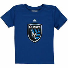 San Jose Earthquakes adidas Preschool Primary Logo T-Shirt - Blue - MLS
