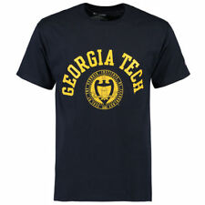 Georgia Tech Yellow Jackets Champion Seal T-Shirt - Navy - NCAA