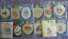 CHOOSE ONE: NEEDLEMAGIC NMI COUNTED CROSS STITCH KITS STITCH 'N FRAME NONHOLIDAY