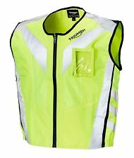 GENUINE Triumph Motorcycles Bright Vest 2 High Visibility Fitted Vest NEW 2017