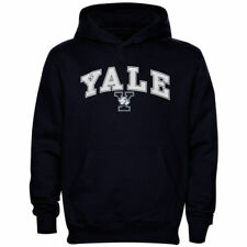 Yale Bulldogs Youth Midsized Pullover Hoodie - Navy Blue - NCAA