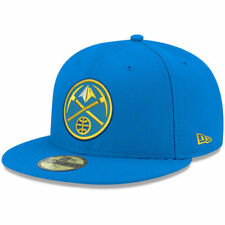 Denver Nuggets New Era Official Team Color 59FIFTY Fitted Hat - Blue - NBA